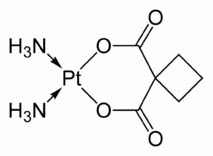carboplatin molecule